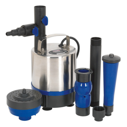Buy Sealey WPP3000S Submersible Pond Pump Stainless Steel 3000ltr/hr 240V at Toolstop