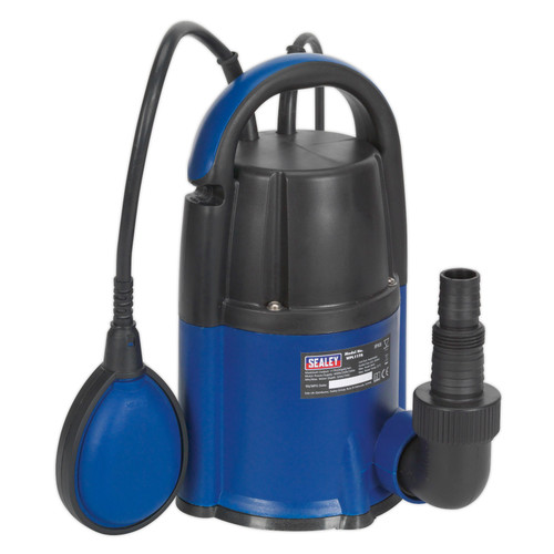 Buy Sealey WPL117A Submersible Water Pump Automatic Low Level 2mm 117ltr/min 240V at Toolstop