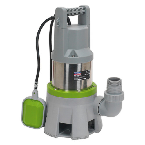 Buy Sealey WPD415 High Flow Submersible Stainless Dirty Water Pump Automatic 417ltr/min 240V at Toolstop