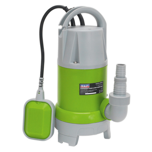 Buy Sealey WPCD215 Submersible Clean & Dirty Water Pump Automatic 217ltr/min 240V at Toolstop