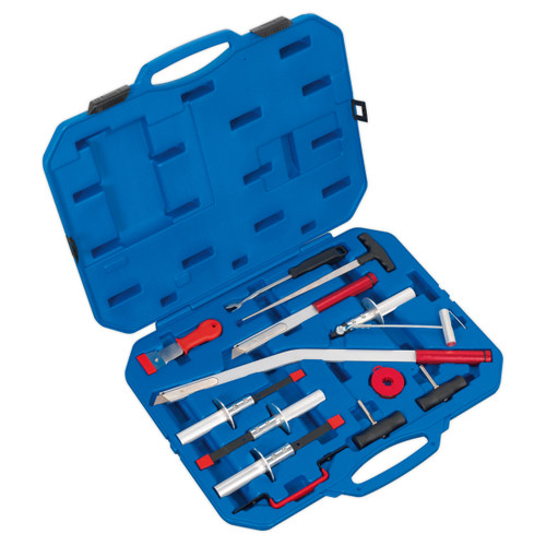 Buy Sealey WK14 Windscreen Removal Tool Kit 14pc at Toolstop