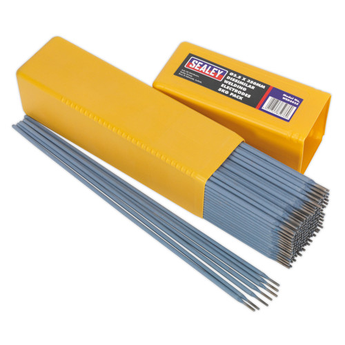 Buy Sealey WED5025 Welding Electrodes Dissimilar ∅2.5 X 350mm 5kg Pack at Toolstop