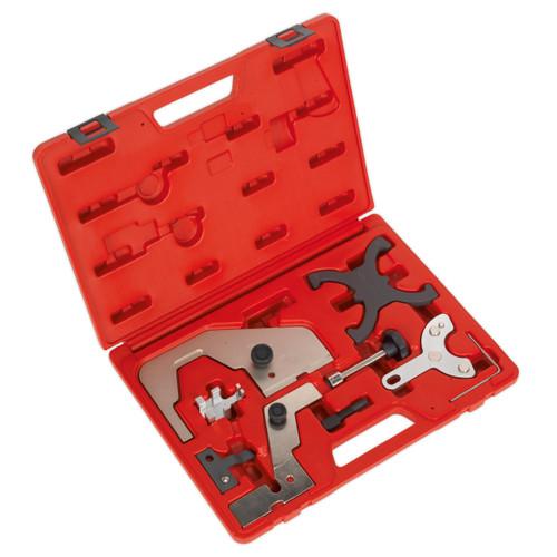 Buy Sealey VSE6160 Petrol Engine Setting/Locking Kit - Ford, Volvo, Mazda 1.6 & 2.0 - Chain & Belt Drive at Toolstop