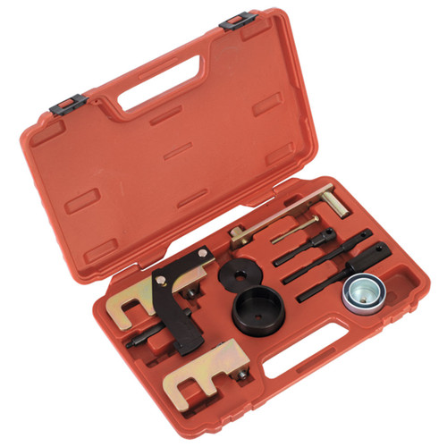 Buy Sealey VSE5871A Diesel Engine Setting/locking Kit - Renault, Nissan, Vauxhall/opel 1.5d, 1.9d, 2.2d, 2.5d Dci/di/dti/cdti - Belt at Toolstop