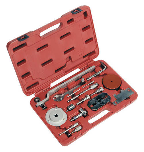 Buy Sealey VSE5036 Diesel Engine Setting/Locking Set - Fiat, Iveco, Citroen, Peugeot - 2.2d, 2.3d, 3.0d - Belt/chain Drive at Toolstop