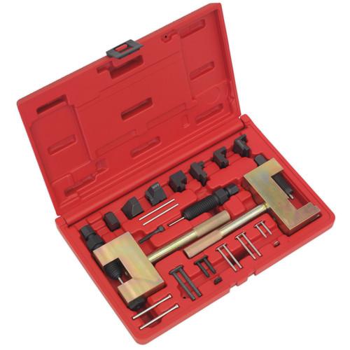 Buy Sealey VSE4802 Timing Chain Tool Kit - Mercedes - Petrol/Diesel at Toolstop