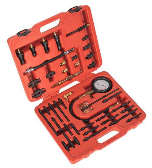Buy Sealey VSE3155 Petrol & Diesel - Master Compression Test Kit at Toolstop