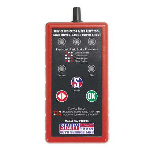 Buy Sealey VS8624 Service Indicator & Epb Reset Tool - Land Rover, Range Rover at Toolstop