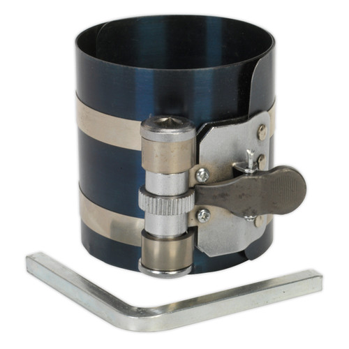 Buy Sealey VS155 Piston Ring Compressor 75mm ∅60-125mm at Toolstop