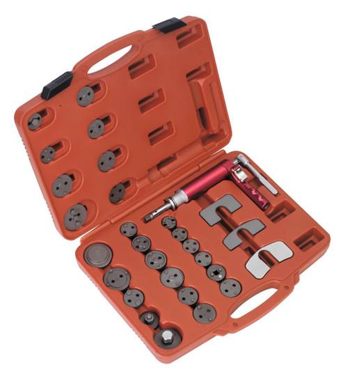 Buy Sealey VS0286 Air Operated Brake Piston Wind-back Tool Kit 29pc at Toolstop