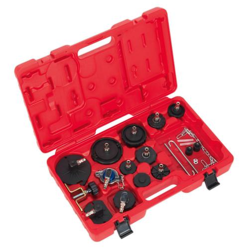 Buy Sealey VS0204B Brake & Clutch Bleeder Cap Set at Toolstop