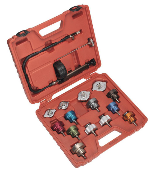 Buy Sealey VS006 Radiator Pressure Test Kit at Toolstop