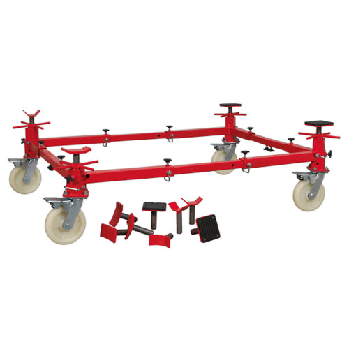 Buy Sealey VMD002 Vehicle Moving Dolly 4 Post 900kg at Toolstop