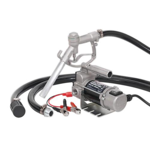 Buy Sealey TP9624 Diesel/fluid Transfer Pump Portable 24v at Toolstop