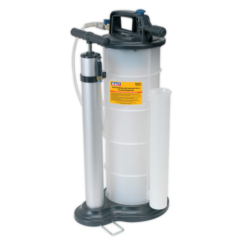 Buy Sealey TP6904 Vacuum Oil & Fluid Extractor Manual/air 9ltr at Toolstop