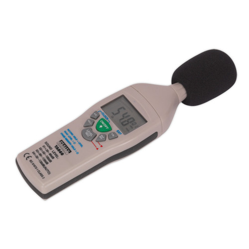 Buy Sealey TA060 Sound Level Meter at Toolstop
