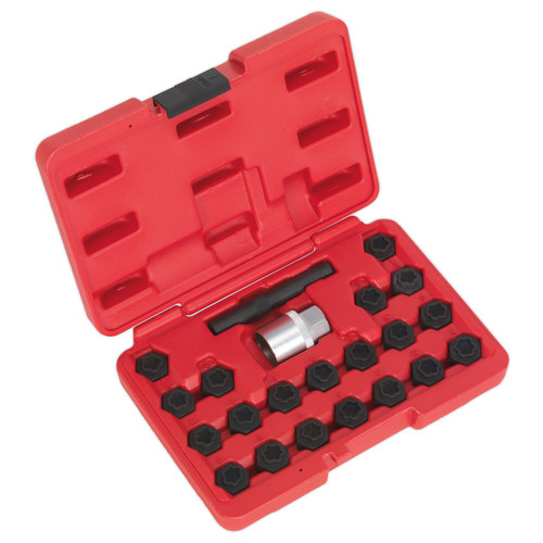 Buy Sealey SX207 Locking Wheel Nut Key Set 22pc - BMW at Toolstop