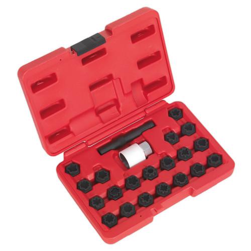 Buy Sealey SX206 Locking Wheel Nut Key Set 22pc - Audi at Toolstop