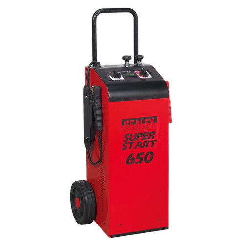 Buy Sealey SUPERSTART650 Starter/Charger 650amp 12/24V at Toolstop