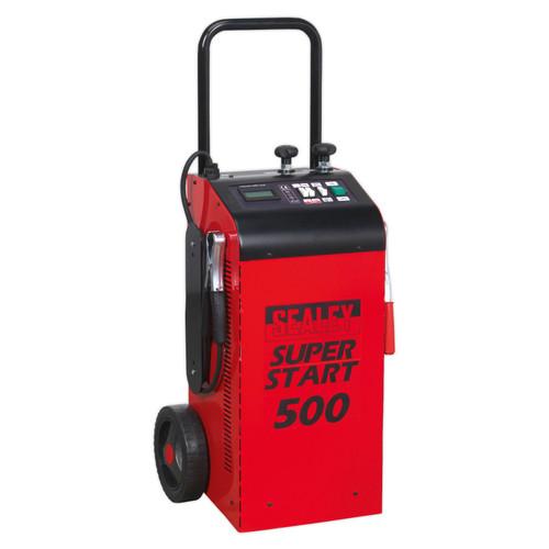 Buy Sealey SUPERSTART500 Starter/Charger 500Amp 12/24V at Toolstop