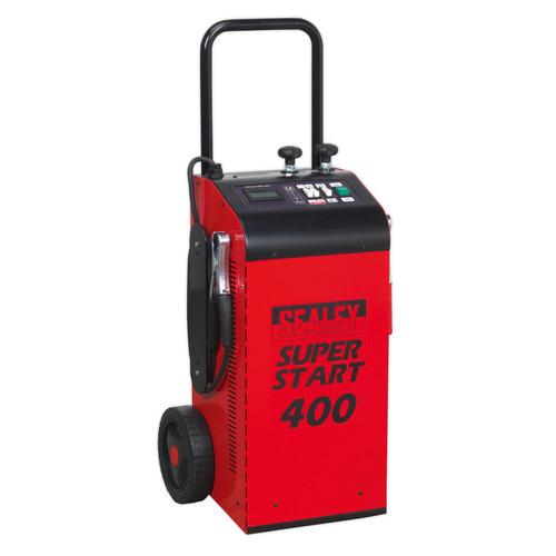 Buy Sealey SUPERSTART400 Starter/Charger 400Amp 12/24V at Toolstop
