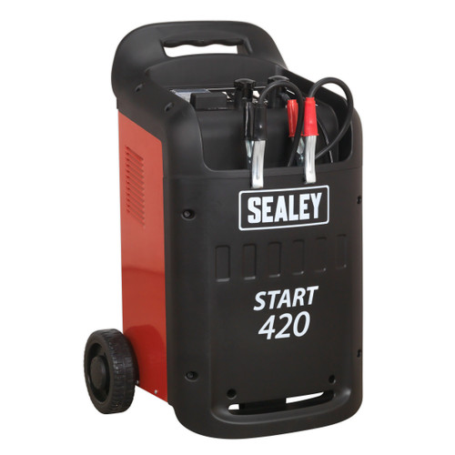 Buy Sealey START420 Starter/Charger 420/60Amp 12/24V 240V at Toolstop