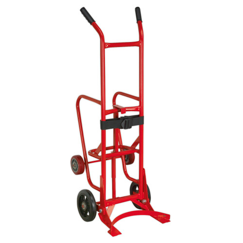 Buy Sealey ST35 Drum Trolley/Stillage 205ltr at Toolstop