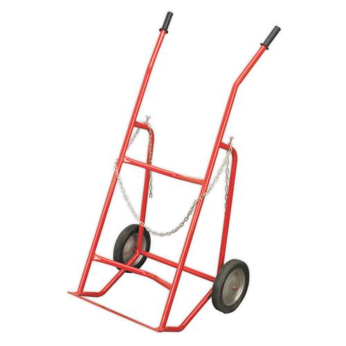 Buy Sealey ST30 Drum Handling Trolley 48gal/205ltr at Toolstop