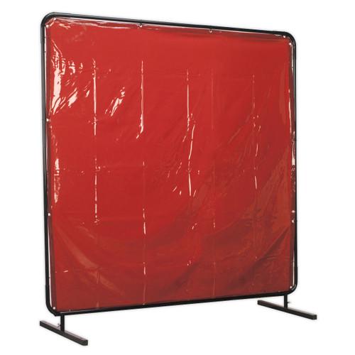 Buy Sealey SSP992 Workshop Welding Curtain To Bs En 1598 & Frame 1.8 X 1.75mtr at Toolstop
