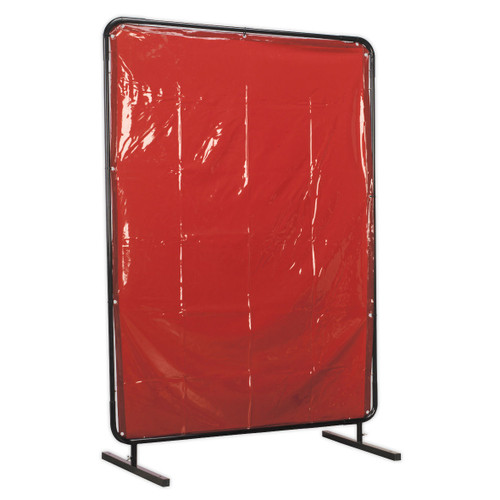 Buy Sealey SSP99 Workshop Welding Curtain To Bs En 1598 & Frame 1.3 X 1.75mtr at Toolstop