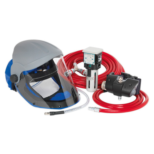 Buy Sealey SSP201K Air Fed Breathing Mask Complete Kit at Toolstop