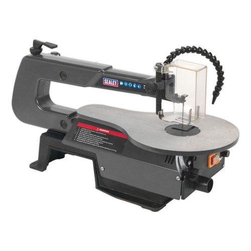 Buy Sealey SM1302 Variable Speed Scroll Saw 406mm Throat 240V for GBP87.5 at Toolstop