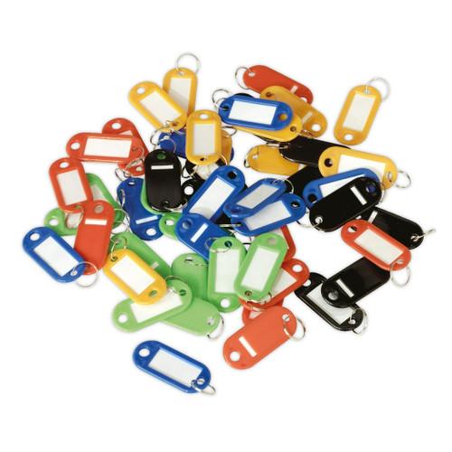 Buy Sealey SKTAG50 Key Tag Assortment 50pc at Toolstop