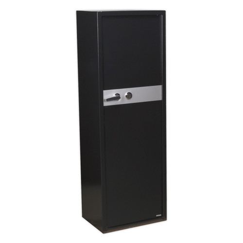Buy Sealey SKGS8 Gun Cabinet With Ammo Box & Key Lock 8 Gun Capacity at Toolstop