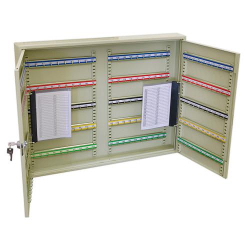 Buy Sealey SKC200W Key Cabinet 200 Key Capacity Wide at Toolstop