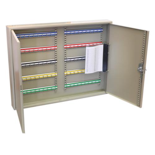 Buy Sealey SKC100W Key Cabinet 100 Key Capacity Wide at Toolstop