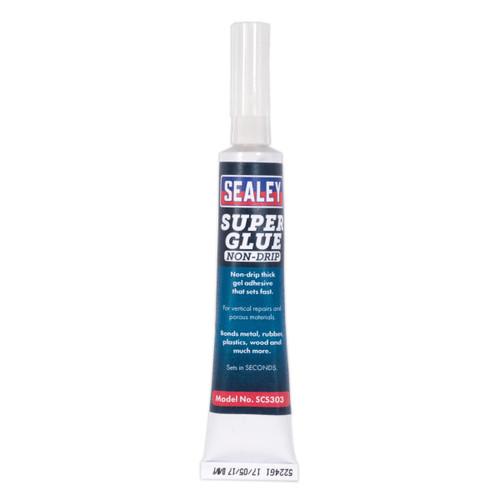 Buy Sealey SCS303 Super Glue Non-drip Gel 20g Pack Of 20 at Toolstop