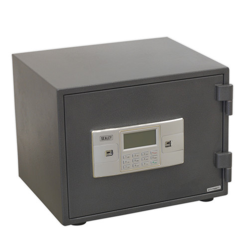 Buy Sealey SCFS01 Electronic Combination Fireproof Safe 420 X 350 X 330mm for GBP187.17 at Toolstop