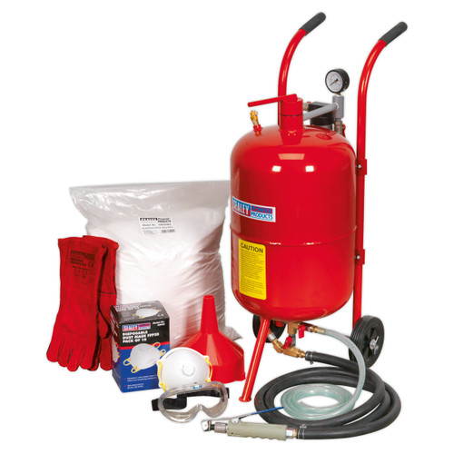 Buy Sealey SBKIT Shot & Soda Blasting Kit at Toolstop