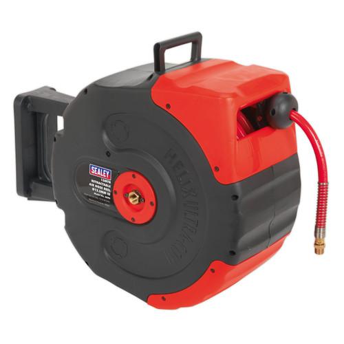 Buy Sealey SA94 Retractable Air Hose Reel 15mtr ∅12.5mm Id at Toolstop