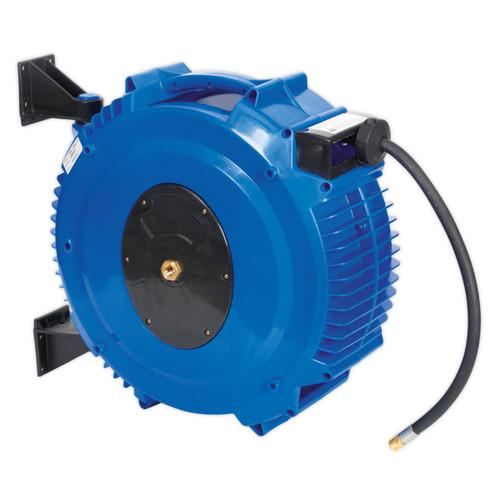 Buy Sealey SA88 Retractable Air Hose Reel 20mtr ∅10mm Id Tpr Hose at Toolstop