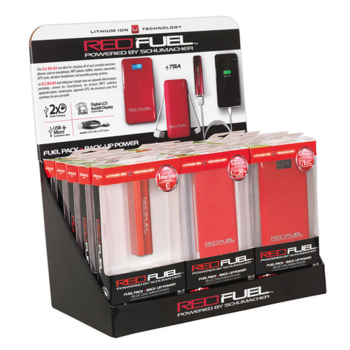 Buy Sealey RFKIT2 Lithium Power Pack - Counter Display at Toolstop
