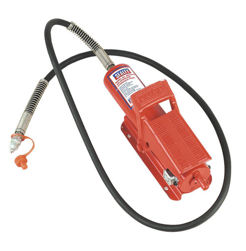 Buy Sealey RE83/840/CWH Air Hydraulic Pump 10tonne With Hose at Toolstop