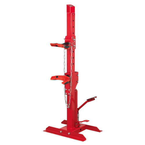 Buy Sealey RE2311 Coil Spring Compressing Station With Gauge Hydraulic 2000kg Capacity at Toolstop