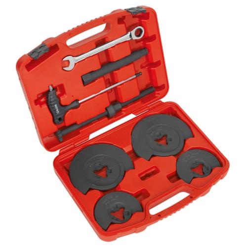 Buy Sealey RE2281 Coil Spring Compressor - Wishbone Suspension 1000kg at Toolstop