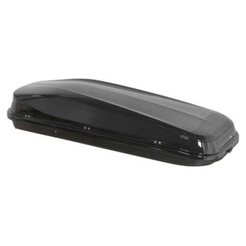 Buy Sealey RB480E Roof Box Gloss Black 480ltr 50kg Max Load at Toolstop