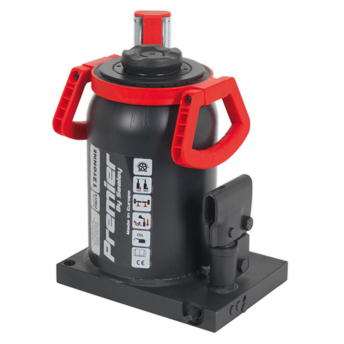 Buy Sealey PTBJ12 Premier Telescopic Bottle Jack 12tonne at Toolstop