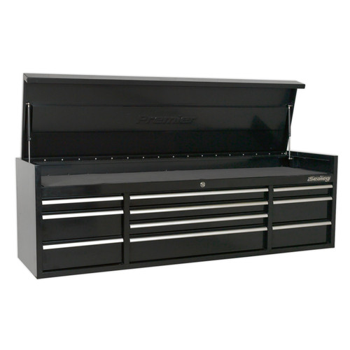 Buy Sealey PTB181510 Topchest 10 Drawer 1830mm Heavy-Duty Black at Toolstop