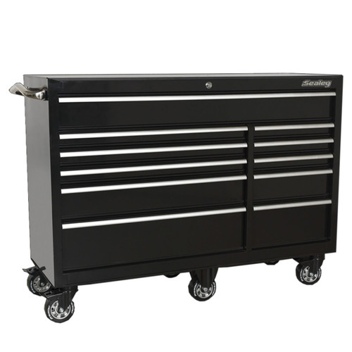 Buy Sealey PTB142511 Rollcab 11 Drawer 1425mm Heavy-Duty Black at Toolstop