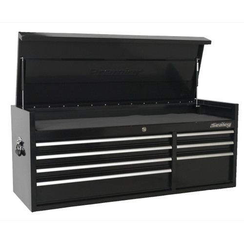 Buy Sealey PTB141007 Topchest 7 Drawer 1410mm Heavy-Duty Black at Toolstop